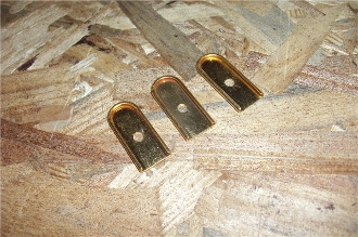 Beretta 21 - NEW GOLD Mag Base - Lot of 3